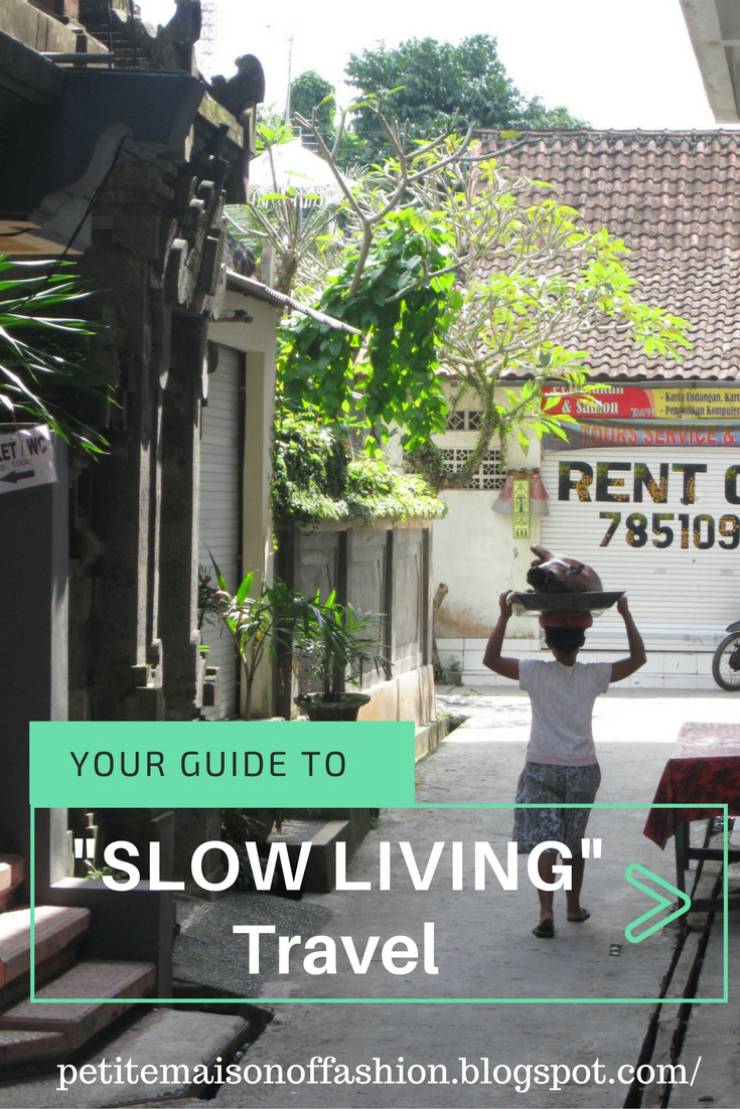 Your Guide to SLOW LIVING while traveling #lifestyle