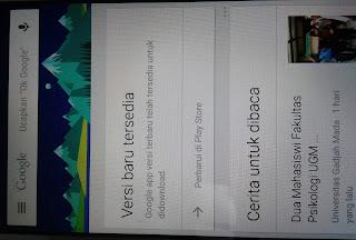 cara menggunakan ok google di android