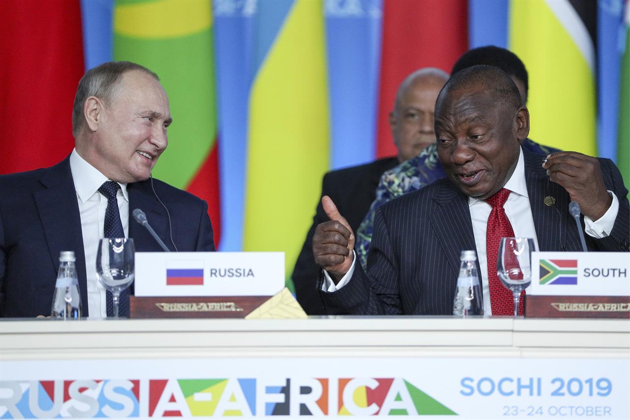 The Ruso-Africa Summit In Sochi