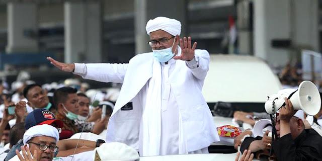 Tidak Mau Lagi Langgar Prokes Alasan Habib Rizieq Batalkan Road Show Keliling Indonesia