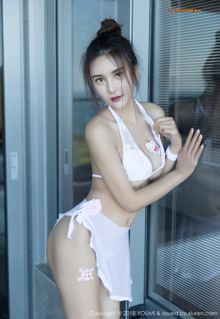 YouMi Vol.224 SOLO MrCong.com 024 wm - YouMi Vol.224: Người mẫu SOLO-尹菲