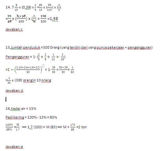 Psikotes matematika