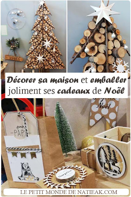 idées pour emballer ces cadeaux de Noël et décorer joliment sa maison