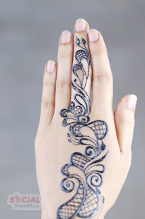 Simple Mehndi Design for hand
