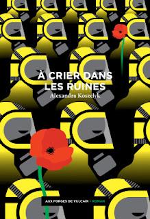 La couverture du roman d'Alexandra Koszelyk est signée Elena Vieillard