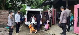 Delapan warga gebog Terpapar Covid kini dipindah ke Gedung Diklat Sonyawareh
