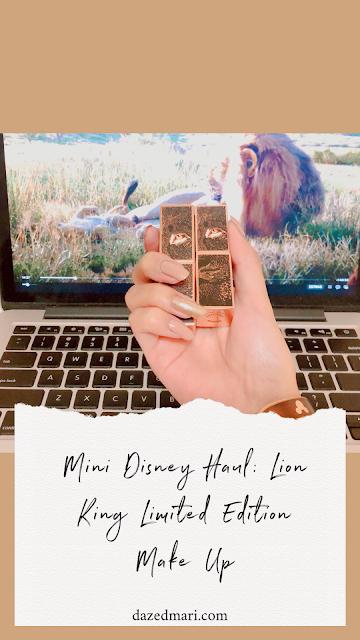 Disney haul, Disney, Lion King, Make Up