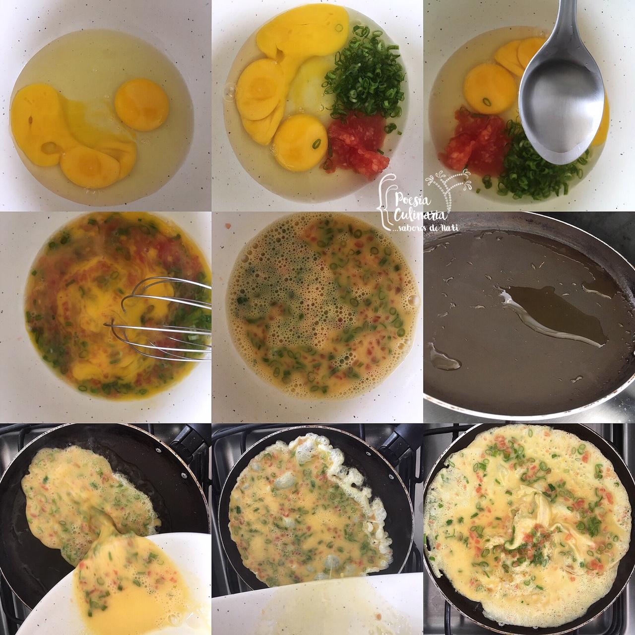 Paladares sabores de nati donburi de tortilla de for 3 cocinar un huevo sin fuego