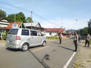 Seusai Apel Pagi, Polsek Maiwa Polres Enrekang Melaksanakan Operasi Yustisi