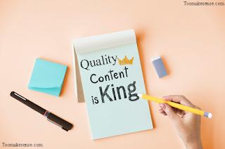 Quality blog post