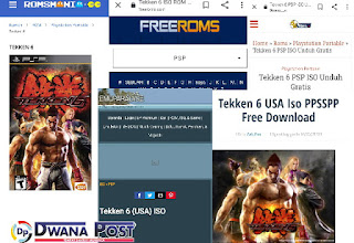 [5 Situs Download] Game Tekken 6 USA PPSSPP - Gratis