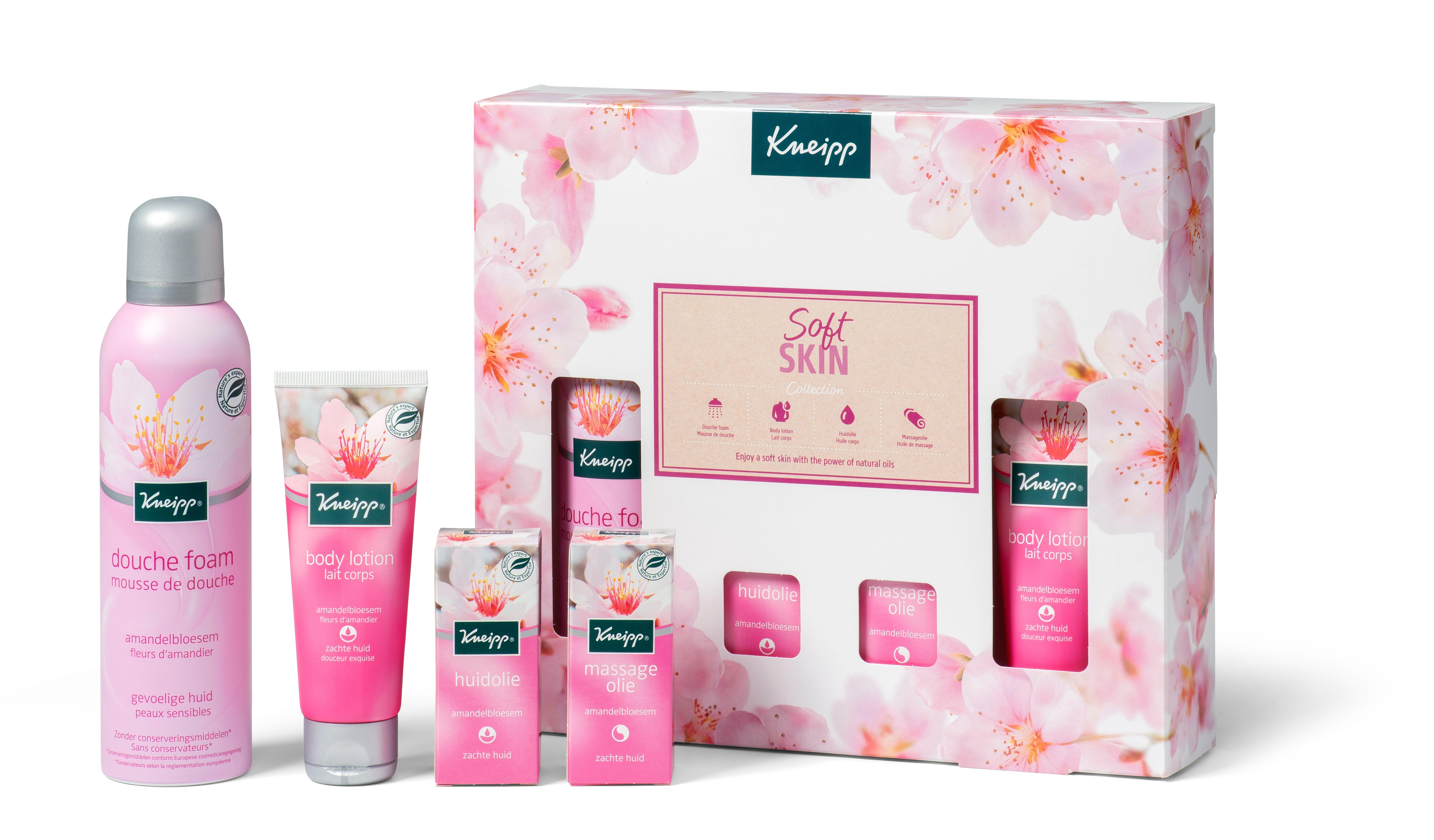 Nieuwe kneipp Giftsets voor Sint/kerst 2020 Soft skin collectie