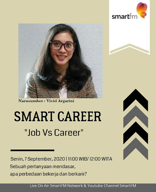vivid Argarini smart career smart fm job vs career