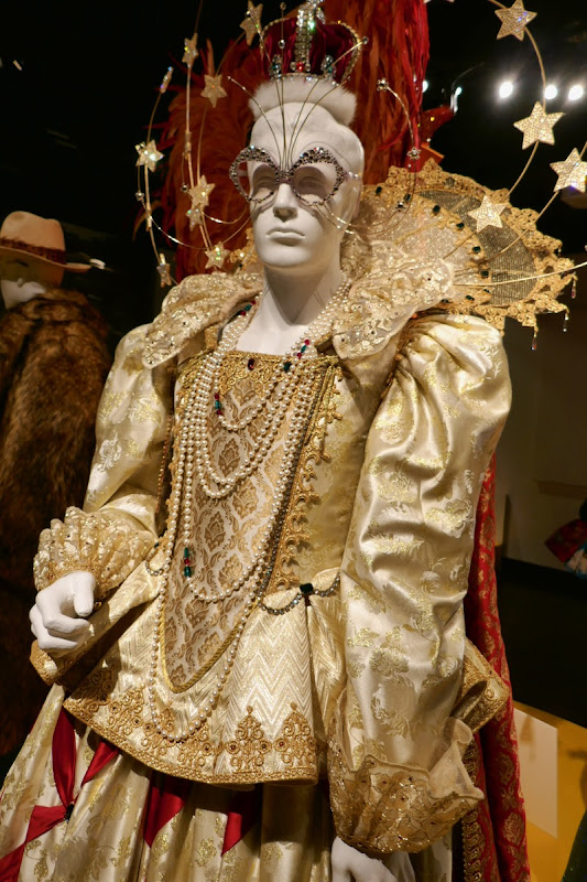 Elton John Rocketman Queen Elizabeth costume