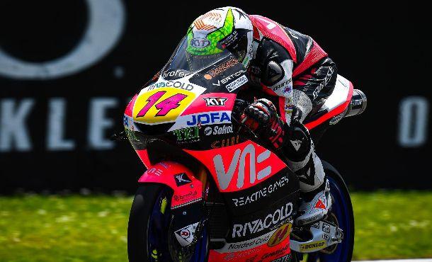 Tony Arbolino vence por apenas 29 milésimos na Moto3 em Mugello