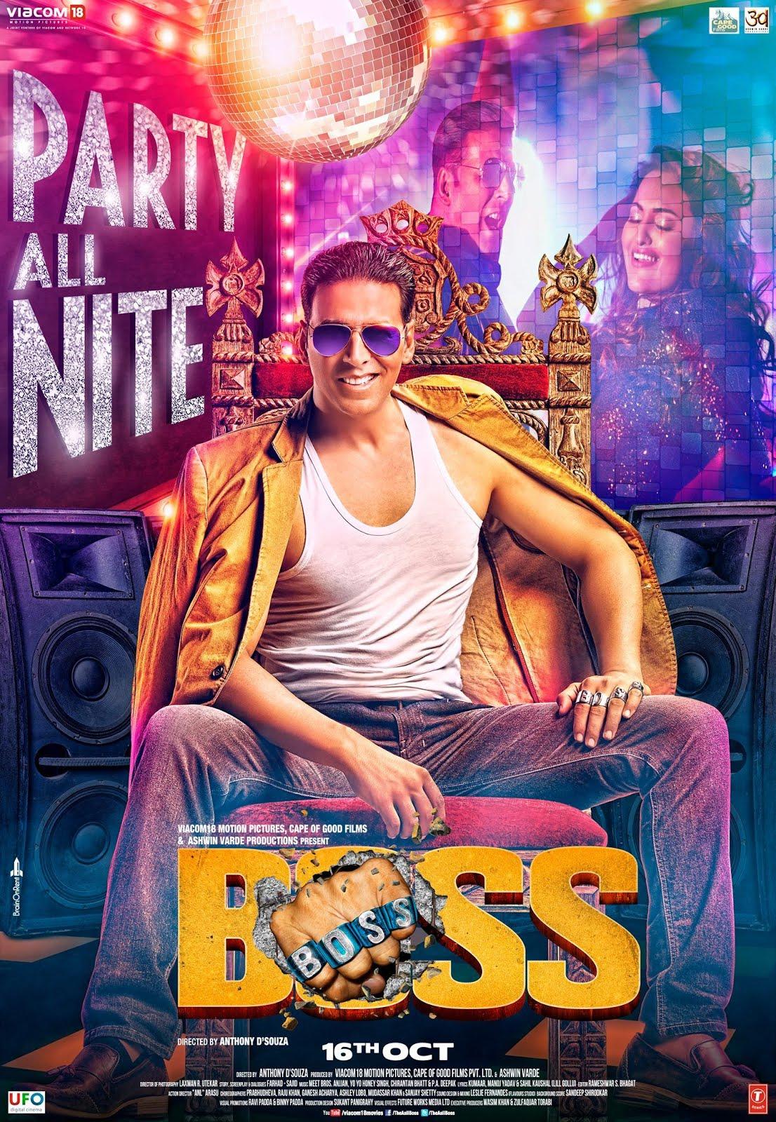 Boss 2013 full hd Hindi Movie 1GB HDRip 720p