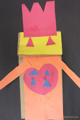 Valentine's Day Craft Robot
