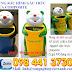 Thùng rác gấu trúc chuyên dùng cho trường học LH 098 441 3730 Ms Linh để có giá tốt