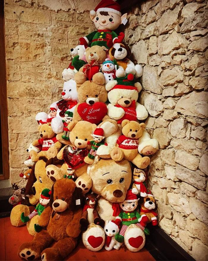 Soft toys Christmas tree