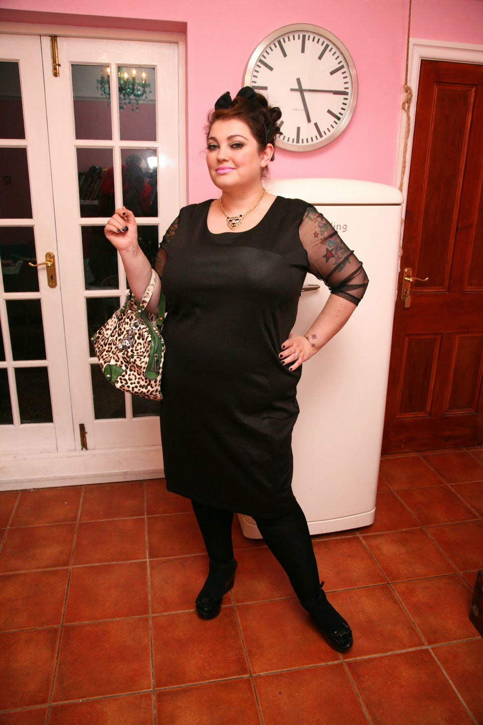 3ed0a853eb5e A Little Black Dress For A Plus Size Hottie | Pamper and Curves