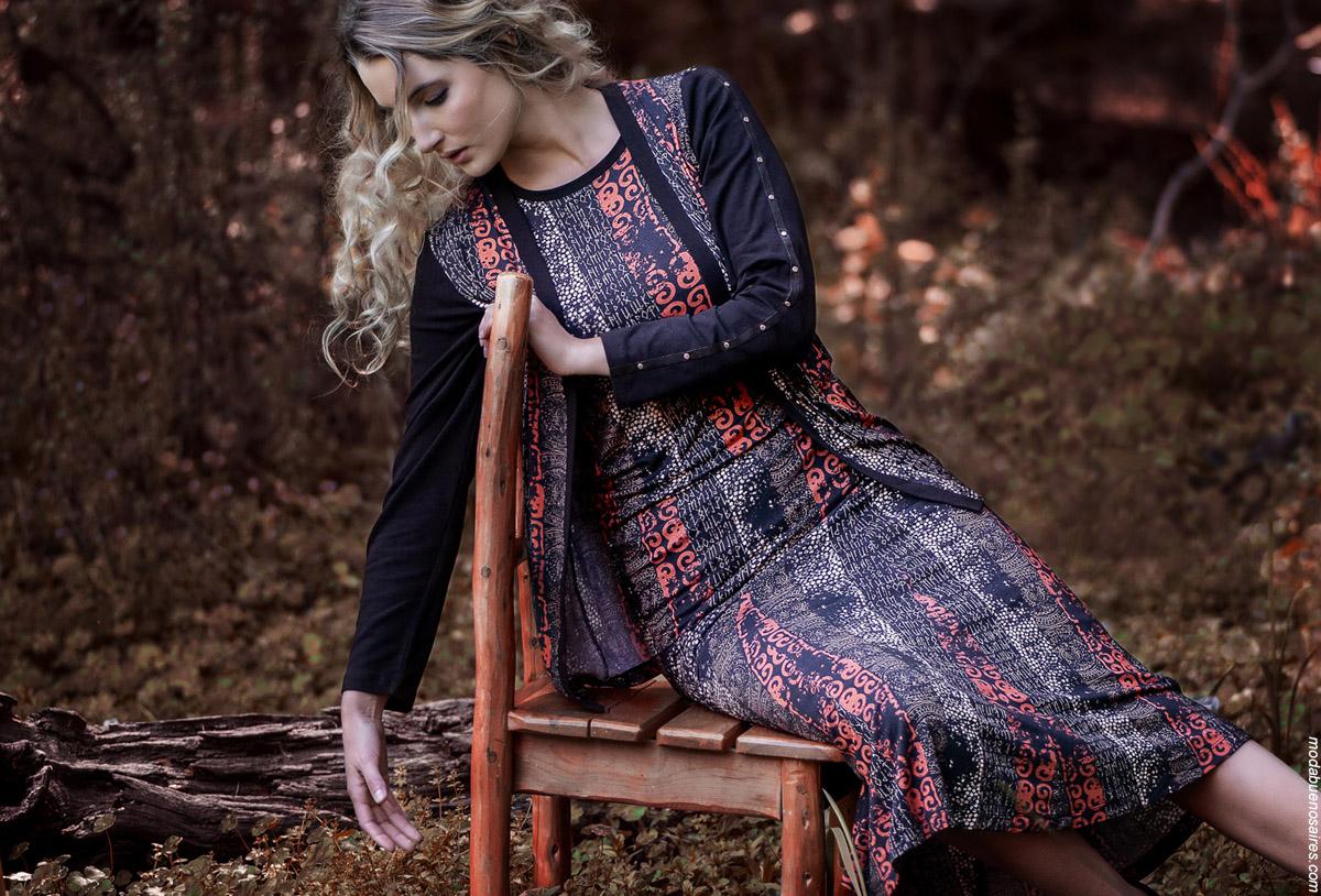 Vestido invierno 2019. Moda mujer invierno 2019 vestidos.