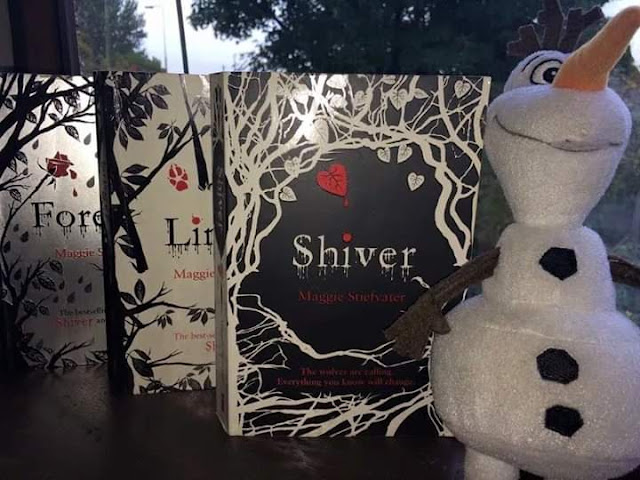 Shiver, Linger and Forever by Maggie Stiefvater.