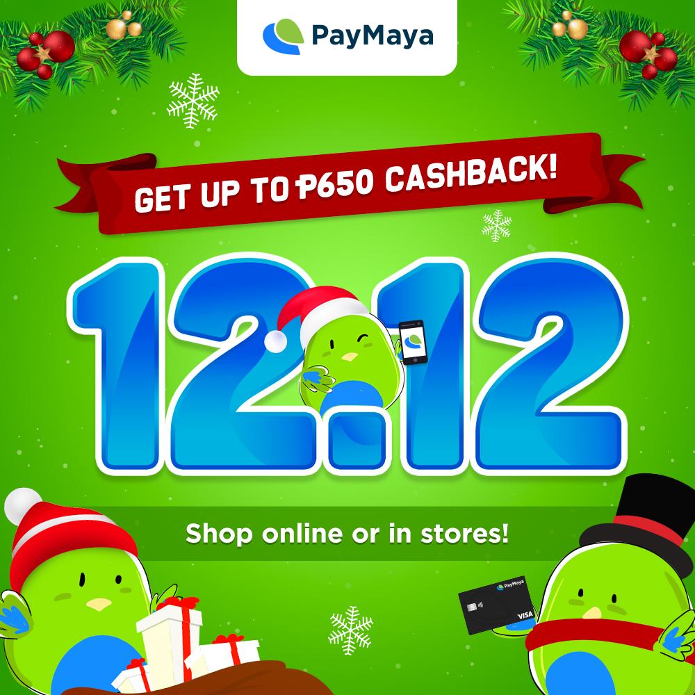 PayMaya 12.12 Sale
