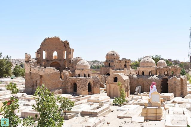 Cementerio fatimí de Aswan