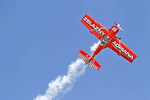 pokazy lotnicze żelazny