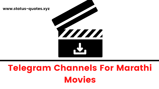 Marathi Movies Telegram Channels To Join 2021