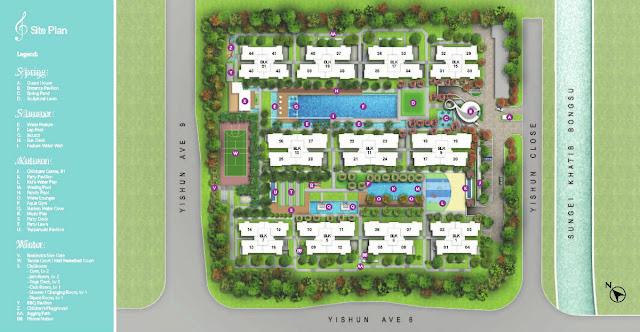 Symphony Suites Site Plan