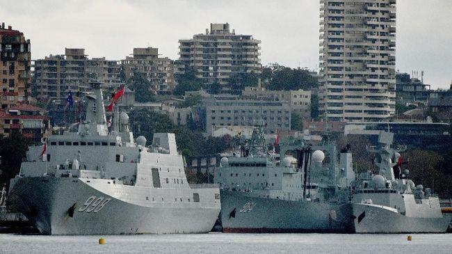 Kapal Induk Inggris Siap Gabung AS, China Marah Besar