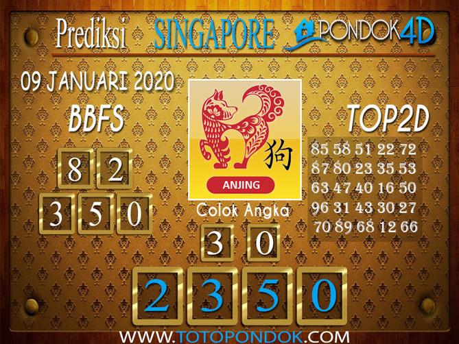 Prediksi Togel SINGAPORE PONDOK4D 09 JANUARI 2020