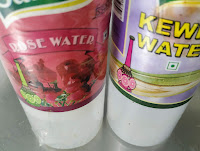 Rose water and kewda water for restaurant style veg biryani recipe