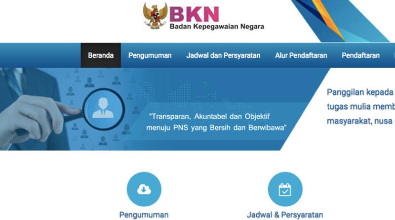 Panduan Cara Mendaftar CPNS Online Kemenkumham 2018
