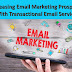 Increasing Email Marketing Prospects With Transactional Email Service