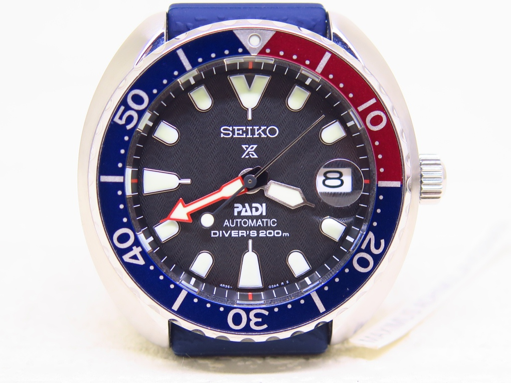 SEIKO DIVER MINI PADI PEPSI BEZEL - SRPC41K1 AUTOMATIC 4R35 - FULLSET BOX PADI WARRANTY CARD