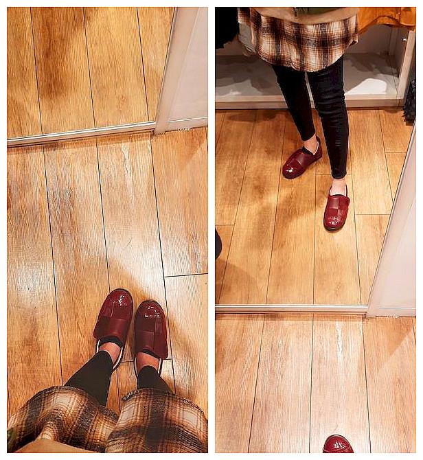 穿搭  ░ 日本免運極具個性造型俏皮氣墊鞋,【CRAAS】KanonS 3D鞋墊舒適紅酒色休閒鞋