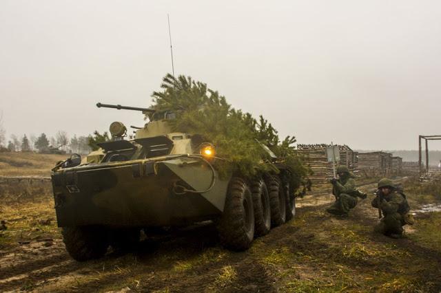 Ρωσικός Στρατός: Αναγνώριση διά της Μάχης
