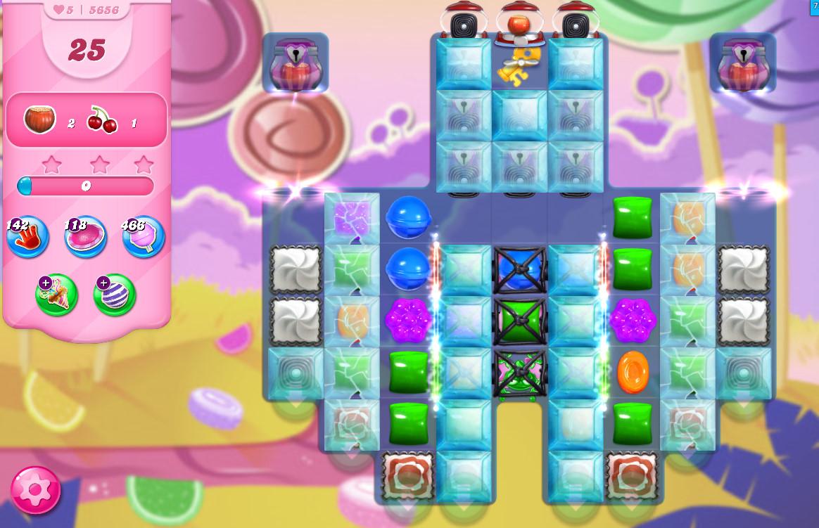 Candy Crush Saga level 5656