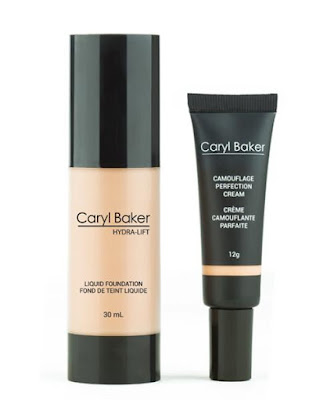 Caryl Baker Hydra-Lift Liquid Foundation and Camouflage Perfection Cream