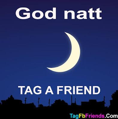 Good Night in Norwegian language