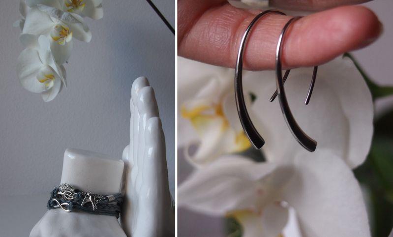 Skagen Ohrringe und Firetti Armband