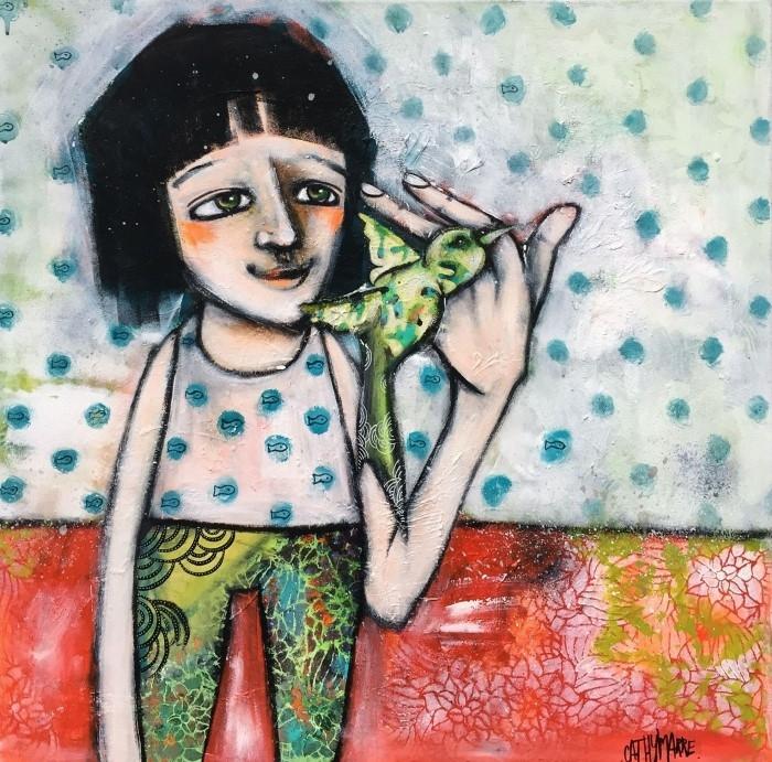 Французский художник. Cathy Marre
