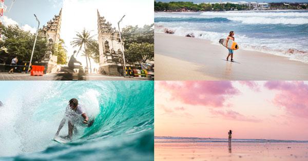 Pantai Kuta Bali, Keindahan Sunset & Pasir Putihnya