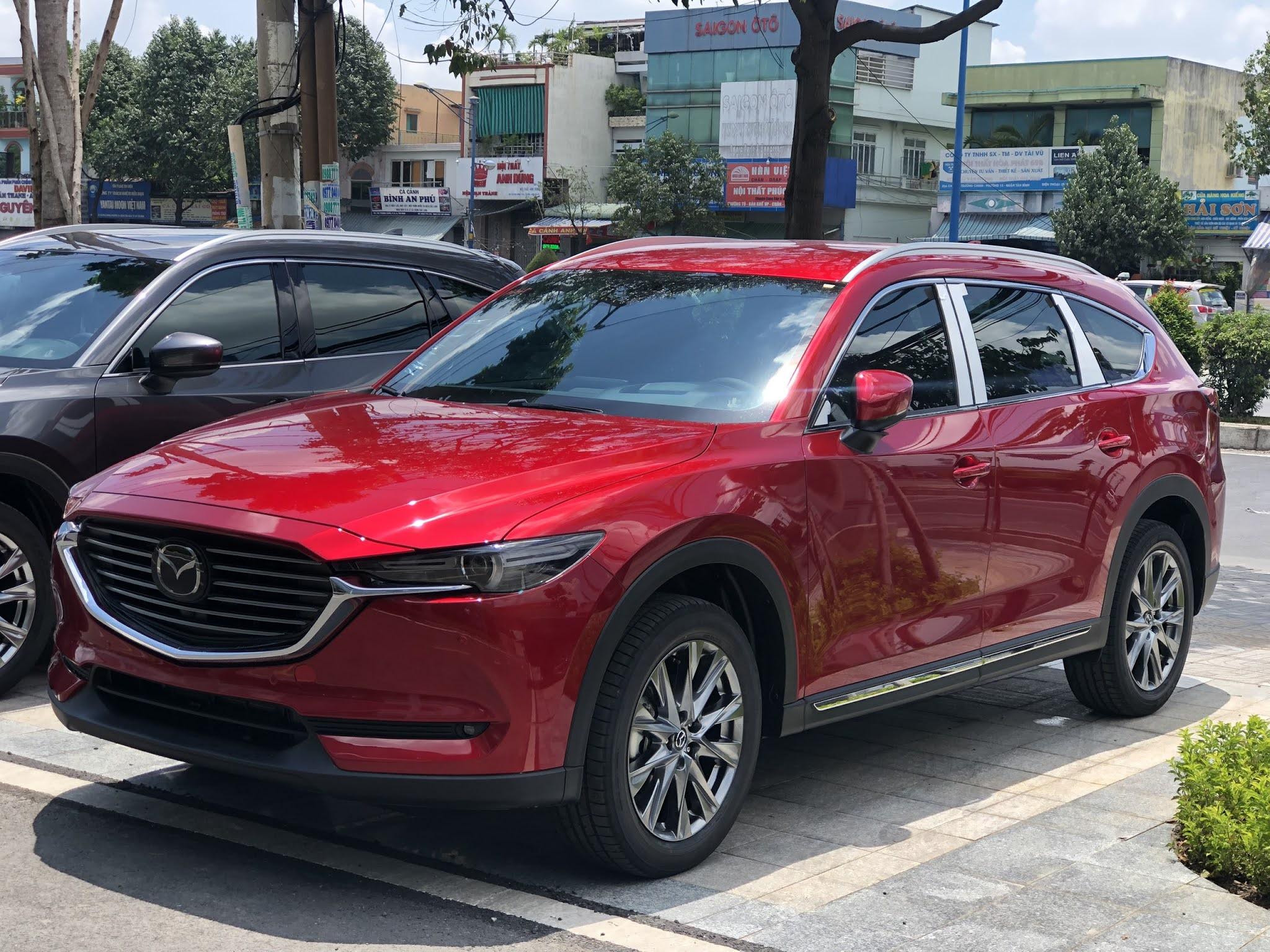 Mazda cx8 đỏ 46V