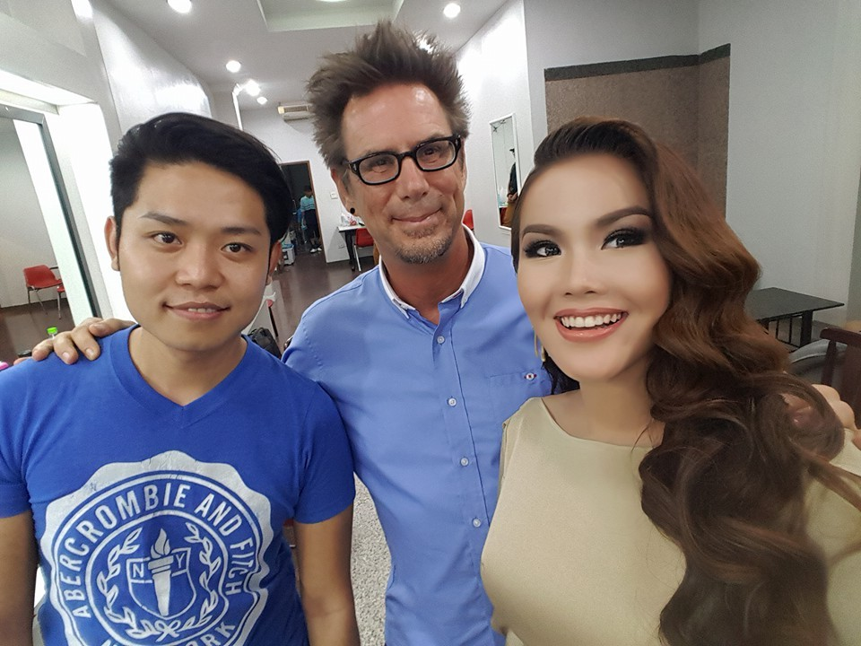 Ni Ni Khin Zaw Behind The Scenes Photos from Oppo A37 Commercial Photoshoot