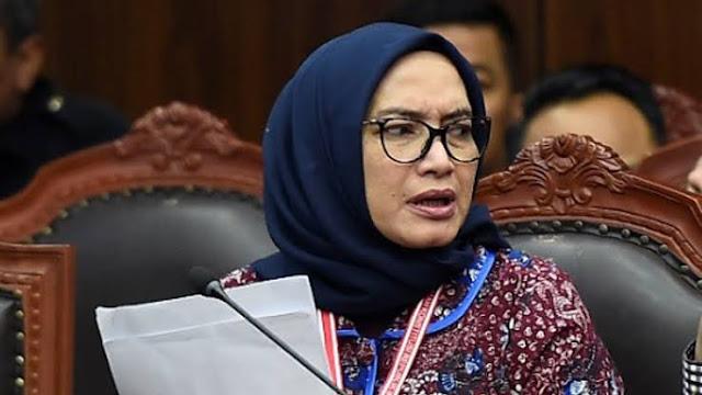 PTUN Batalkan Keputusan Jokowi Pecat Komisioner KPU Evi Novida Ginting