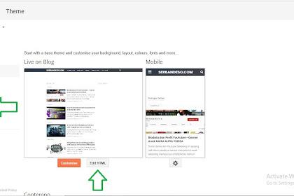 Cara Menampilkan Kolom Komentar Blogger di HP Template Viomagz Terbaru