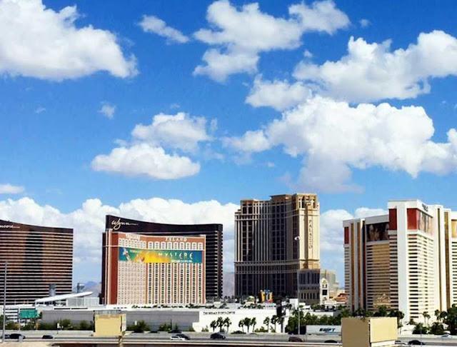 Las Vegas Strip, by day